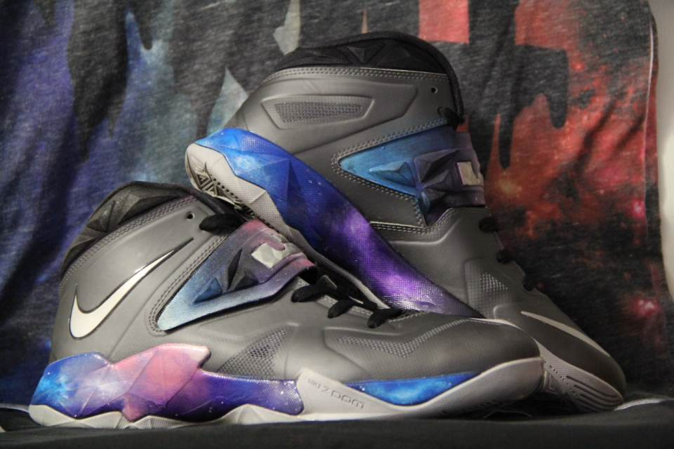 """Image of Lebron 7 soldier """"soldiers in the galaxy"""" Custom"""
