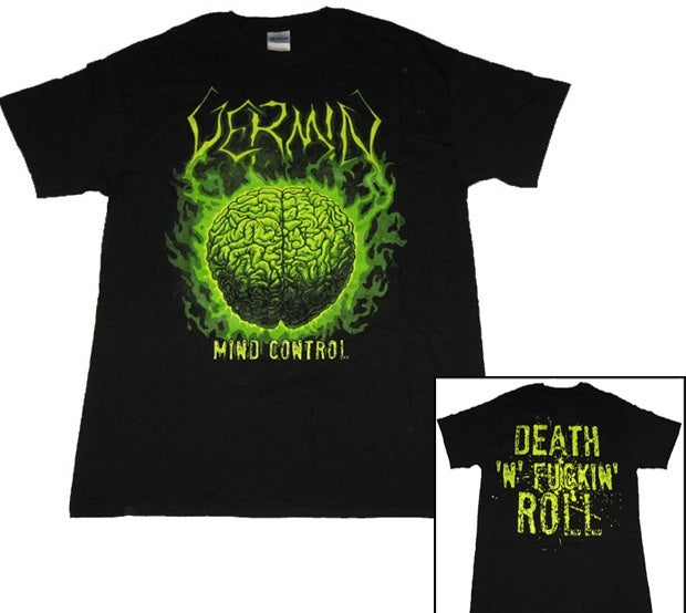 Image of Vermin - Mind Control (Shirt)