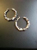 Image of Cheetah Bamboo Earrings