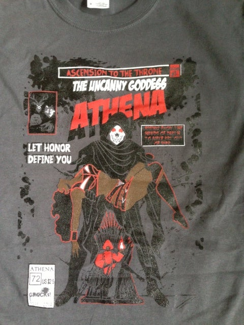 Image of DEATH OF A GODDESS T-SHIRT