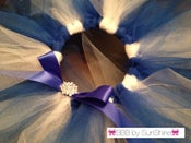 Image of Blue + White Tutu