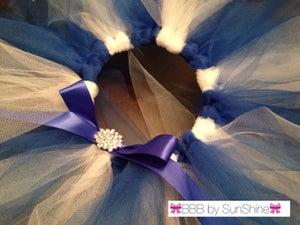 Image of Blue + White Tutu