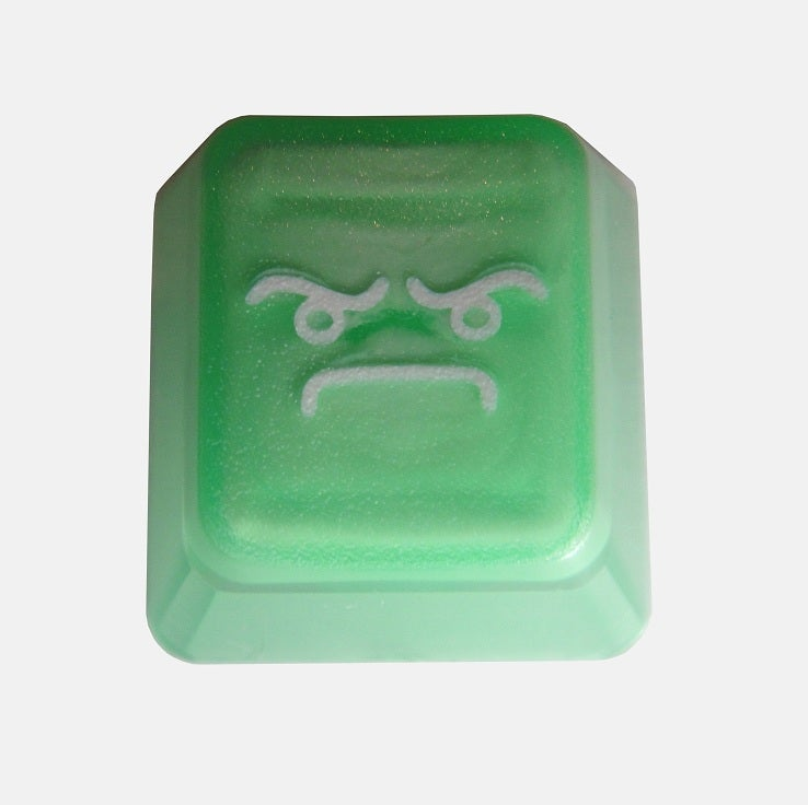 Image of Translucent Light Green LOF(Look of Fury) Keycap