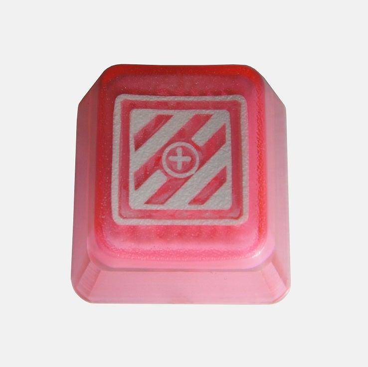 Image of Translucent Pink KeyPop Keycap