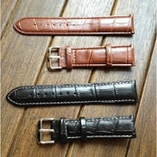 Image of Leather, Handmade, Custom, Various styles, Watch belt
