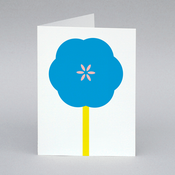 Image of Flower card