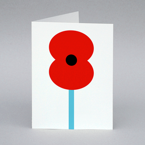 Image of Poppy card