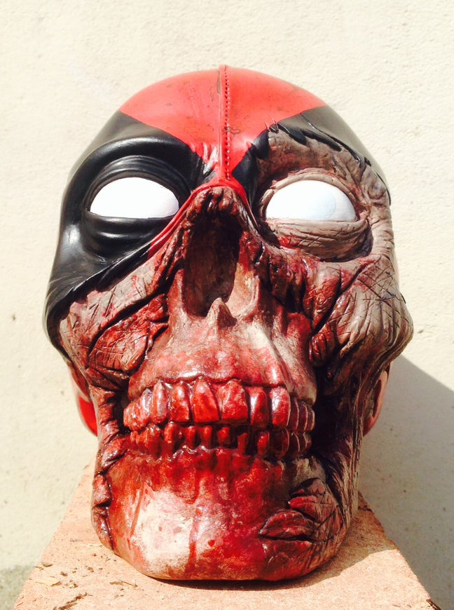 Image of Zombie Deadpool | Custom Moneybox