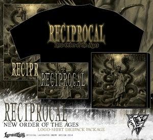 Image of RECIPROCAL - logo shirt CD / DIGIPACK package
