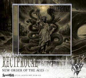Image of RECIPROCAL - New Order Of The Ages CD