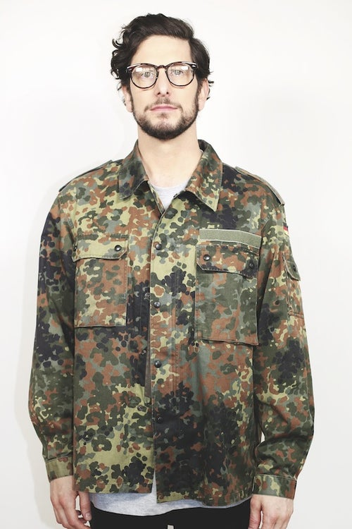 Image of Military Field Jacket - Vintage