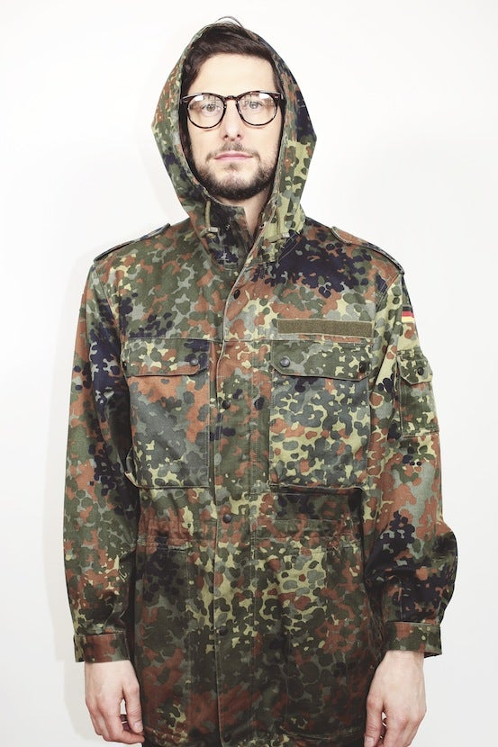 Image of Military Field Parka - Vintage