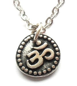 """Image of OM """"Aum"""" Charm Necklace"""