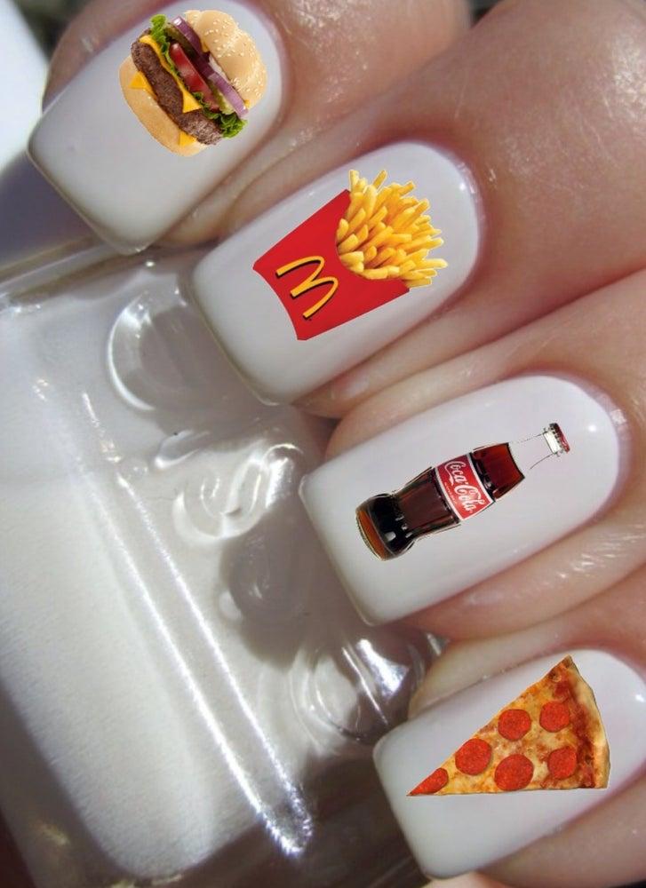 Fast Food Nail Decals / Nail Swank