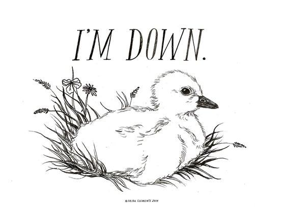 Image of I'm Down / Mini Print