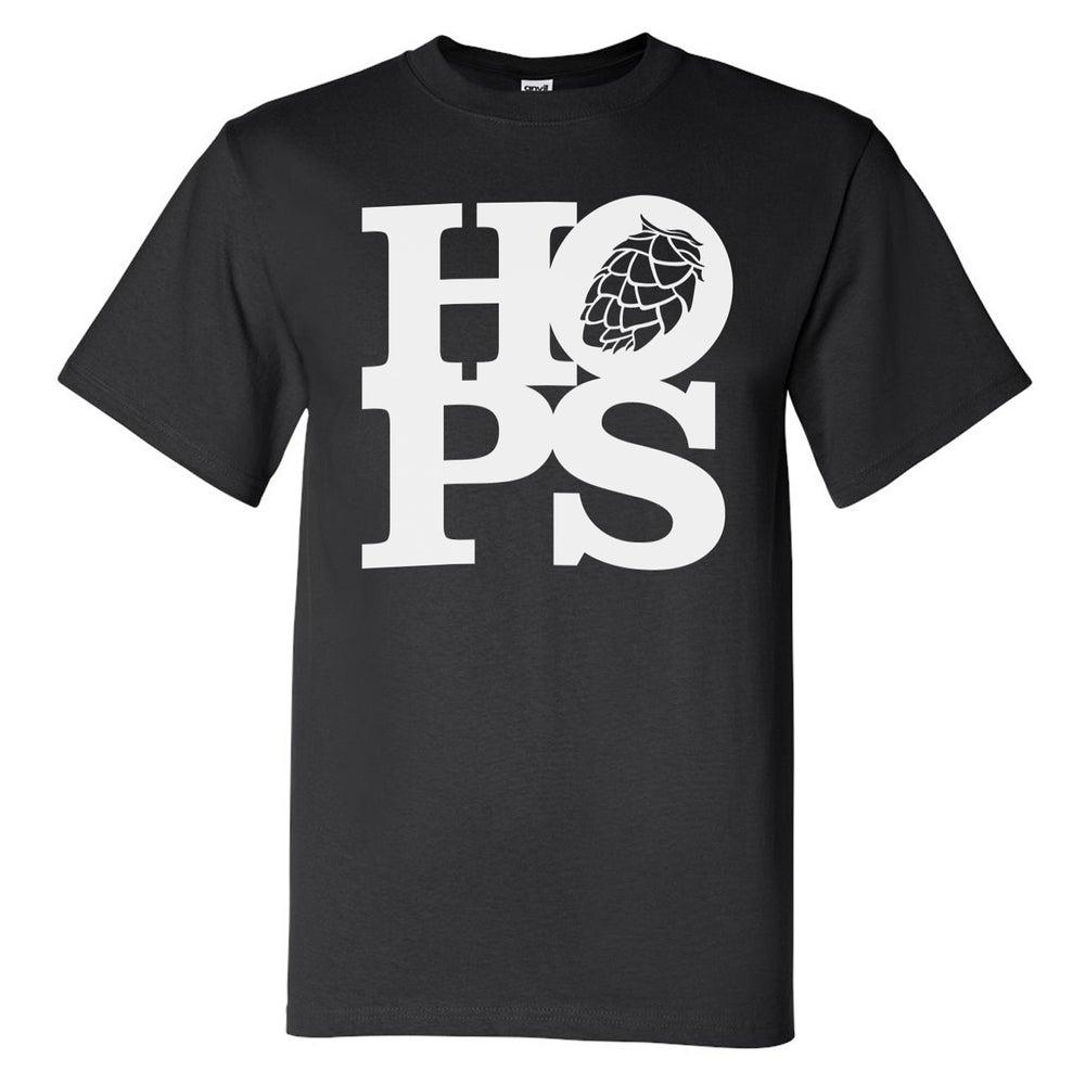 Image of HOPS Tee (Black)