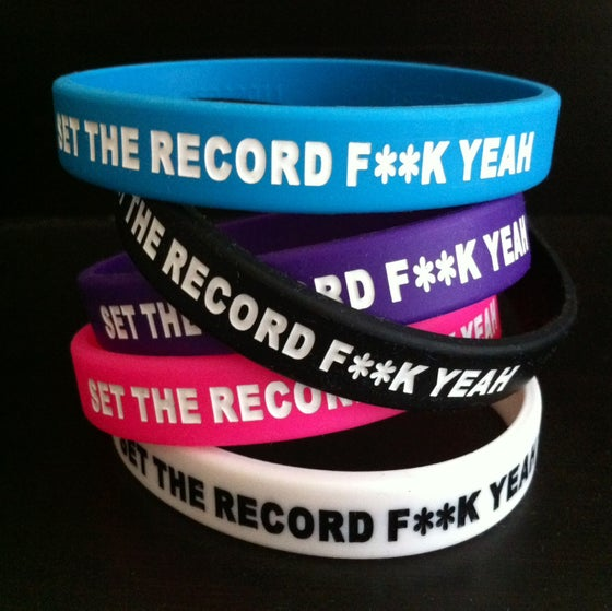 Image of F**K YEAH Wristbands