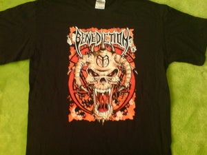 Image of LIMITED EDITION HELLS HEAD T SHIRT BLACK