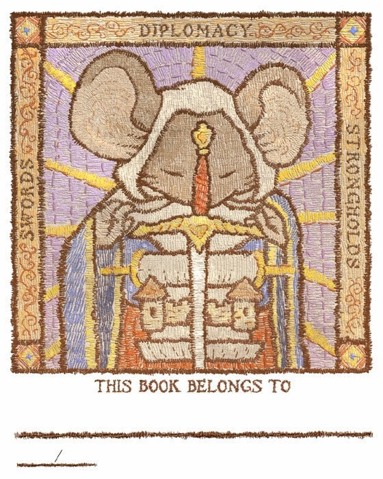 Image of Mouse Guard 2014 Bookplate