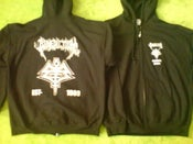 Image of EUROPE 2008 ZIPPED HOODIE