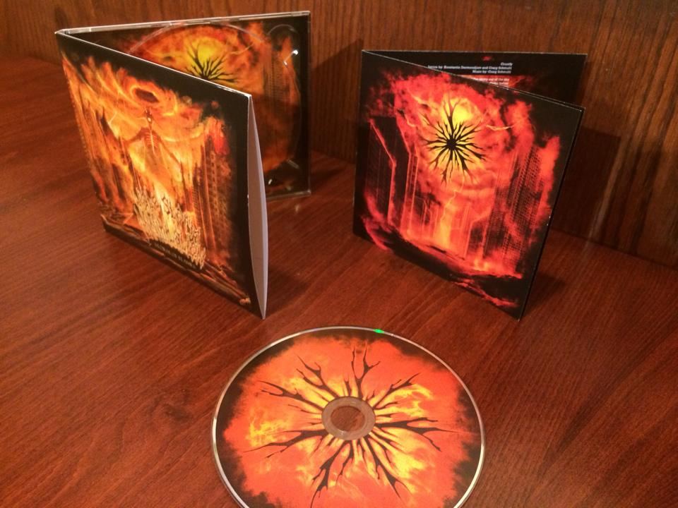 """Image of """"Storm of Flames"""" THE DEBUT CD"""