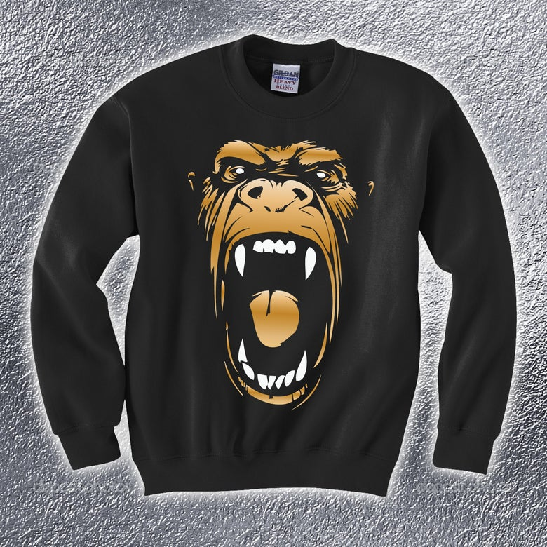 Image of Real Rap Gorilla Sweatshirt