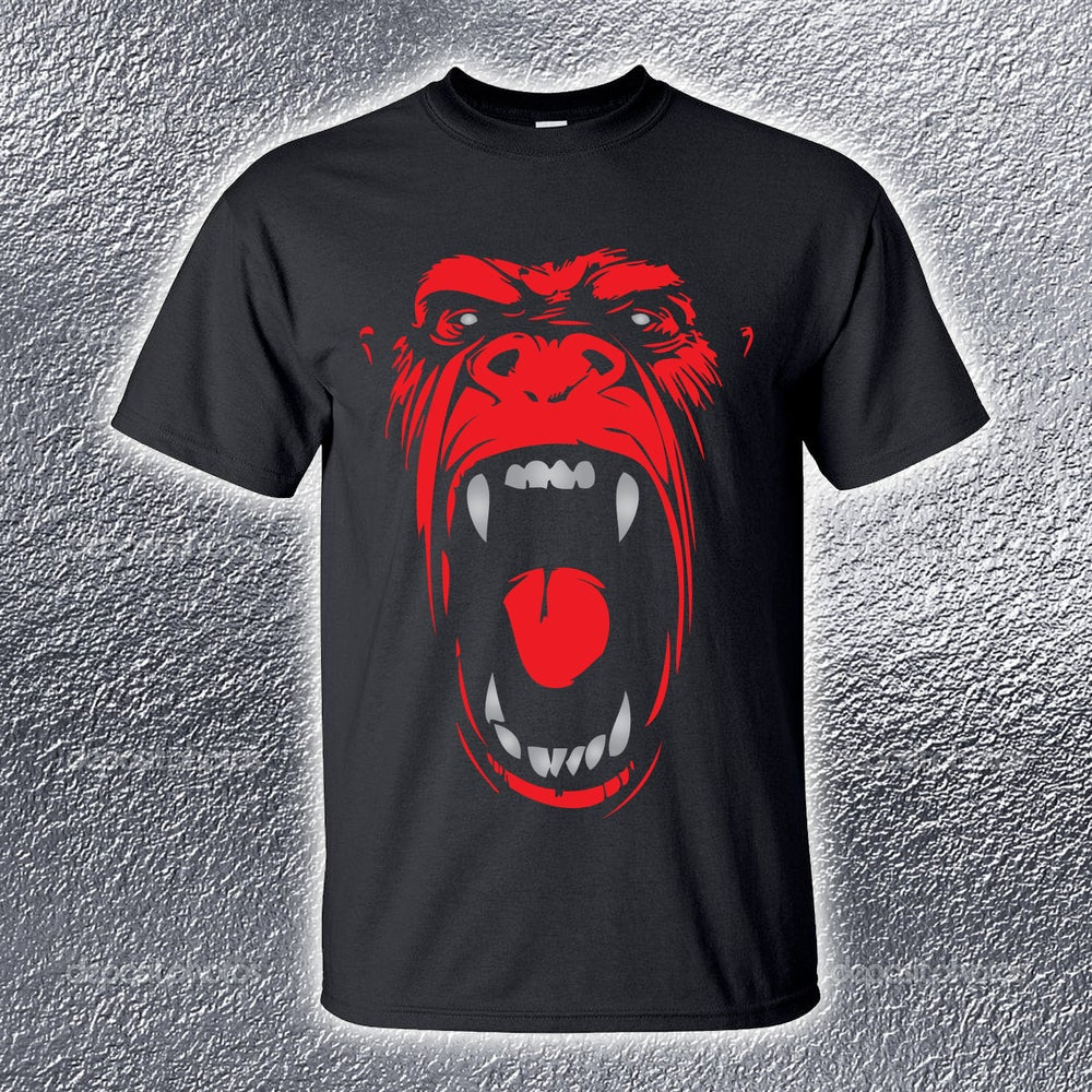 Image of Real Rap Gorilla Mens Tee