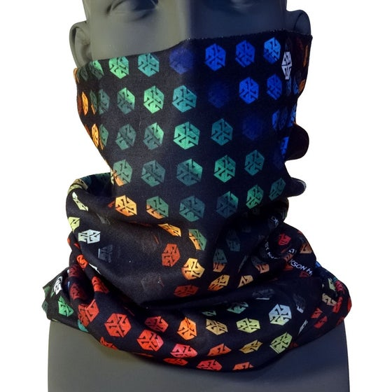 Image of T702 COLORBEATS TSHIELD BY RICHIEBEATS- LEVEL7 SERIES SNOWBOARD FACEMASK TUBE