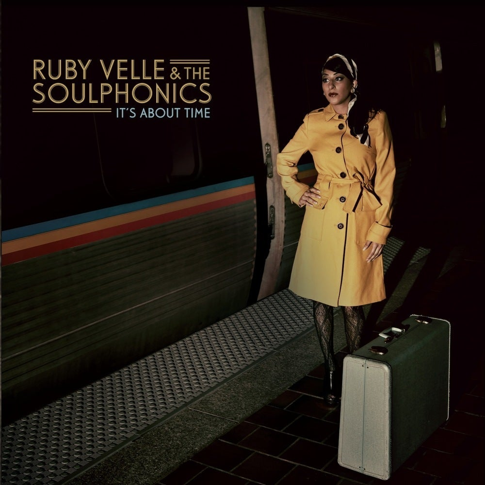 Image of LP : It's About Time  Ruby Velle & The Soulphonics