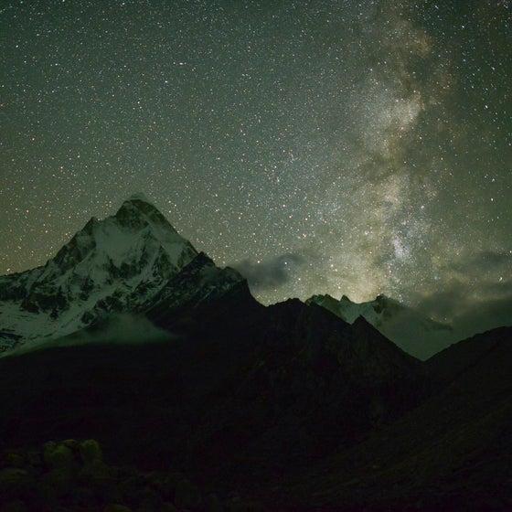 Image of Pete McBride (Shivling Peak)
