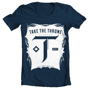 Image of Take The Throne Crest Tee