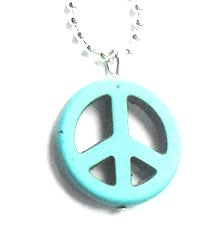 Image of Peace CND Colourful Necklace - More Colours!