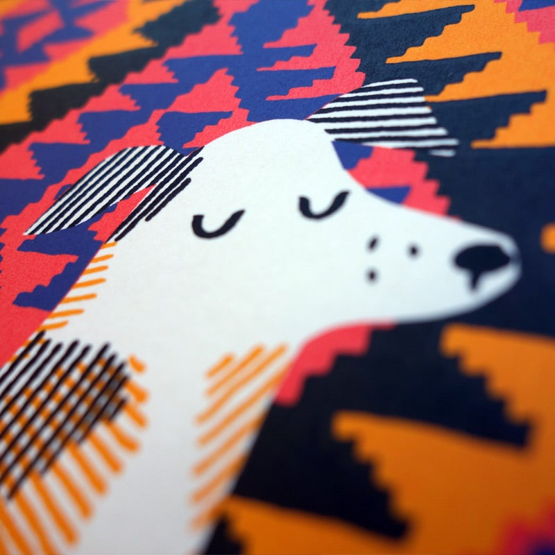 Image of Silkscreen Print | Nutmeg