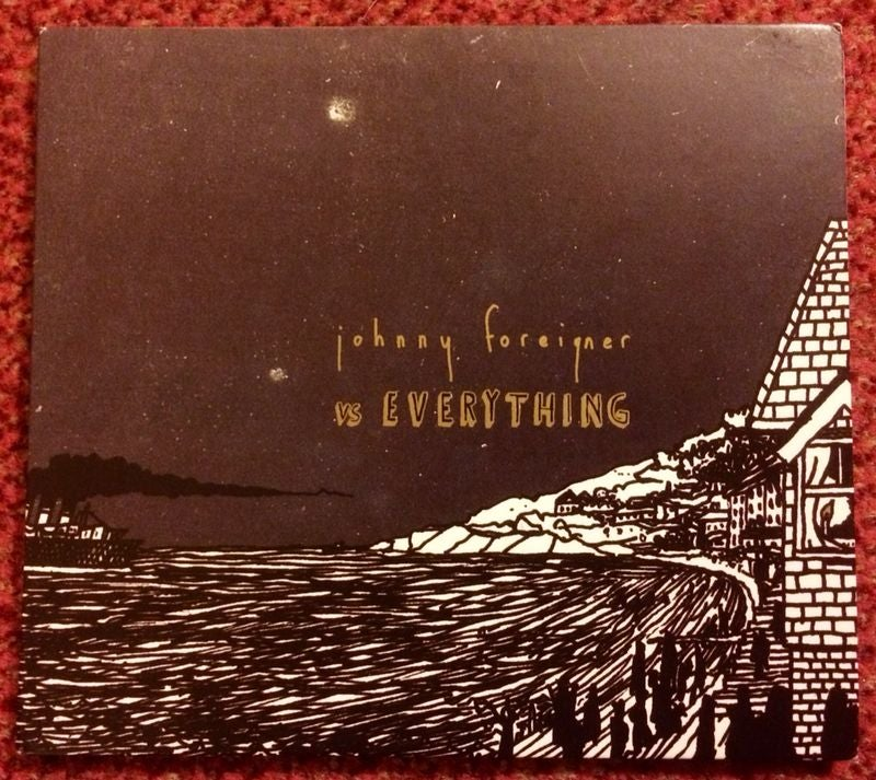 Image of ** SALE ** Johnny Foreigner Vs Everything - CD *signed*