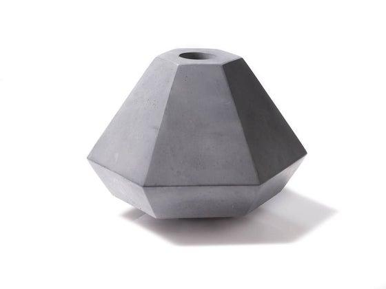 Image of Concrete Candleholder Raw ex.VAT