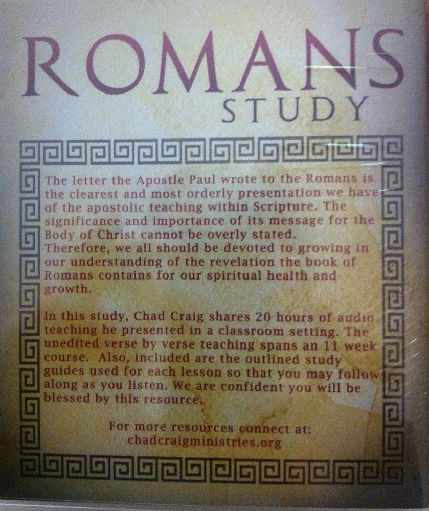 Image of Romans Study - USB/ With Outlines