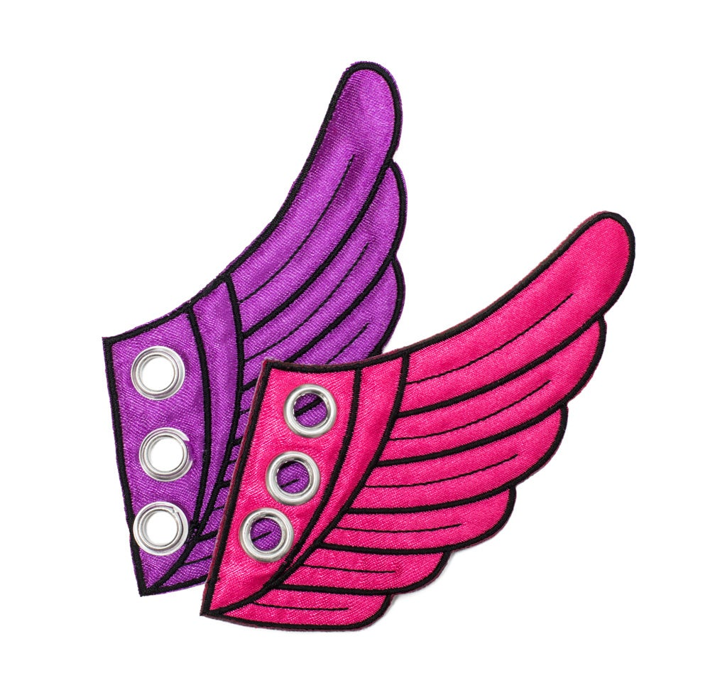 Image of Purple & Pink Wing Kicks