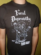 Image of Feral Depravity Turd Baby T-shirt