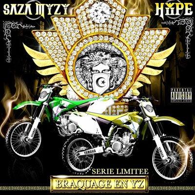 """Image of SAZAMYZY & HYPE CD """"BRACAGE EN YZ"""""""