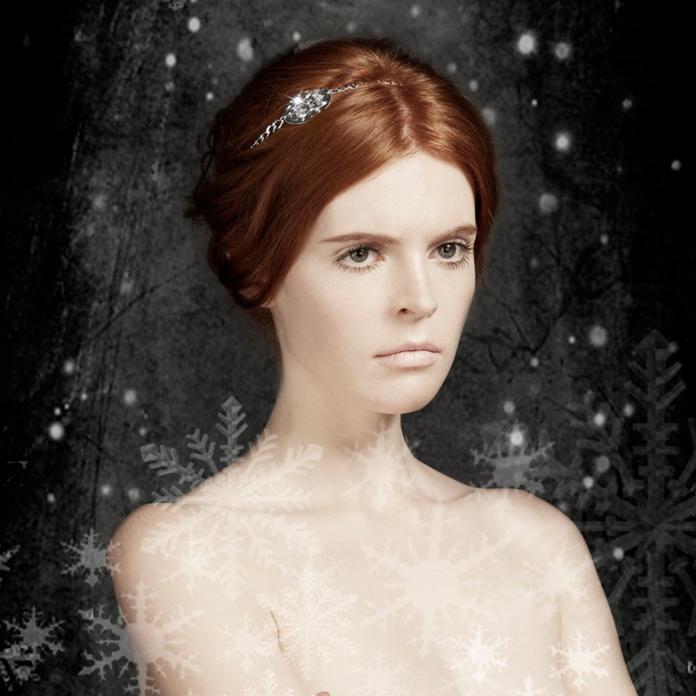 Image of REINE DES NEIGES Bijou de tête/Hair Jewellery
