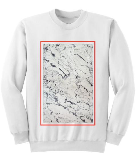 Image of KDMM X GEO Marble Block Sweatshirt