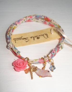 Image of Bird Liberty print bracelet