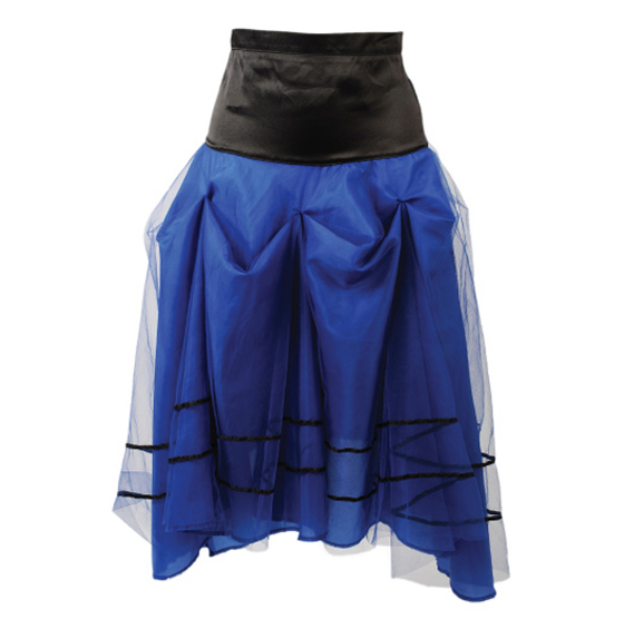 Image of Pretty Disturbia Alice Style Alternative Gather Skirt