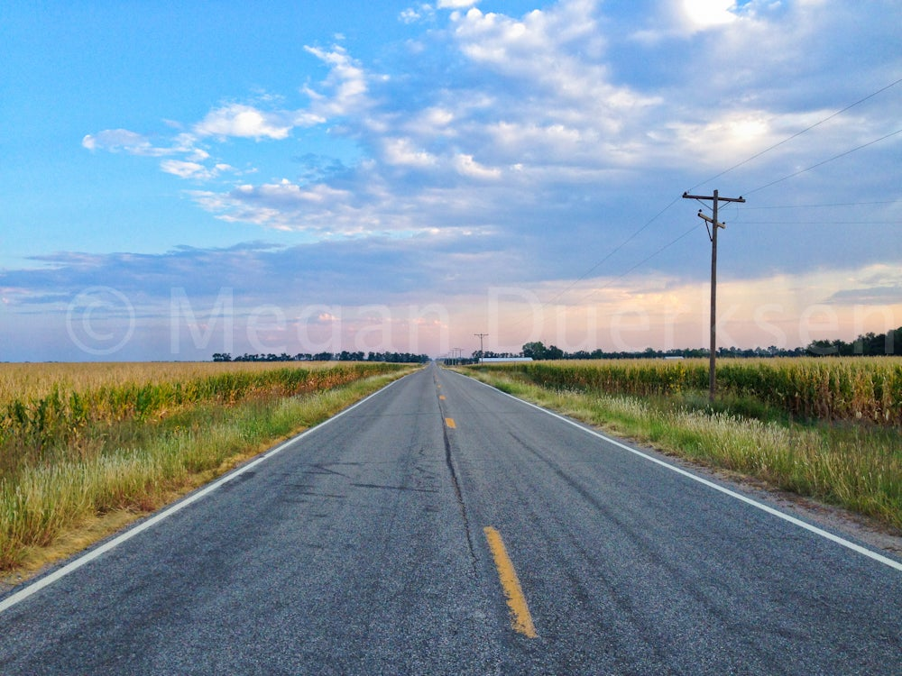 Image of Kansas Road Canvas