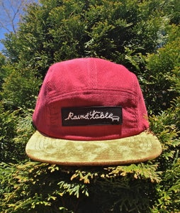 Image of Blood Red Cord Snapback