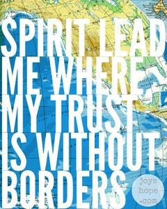 Image of Spirit lead me.