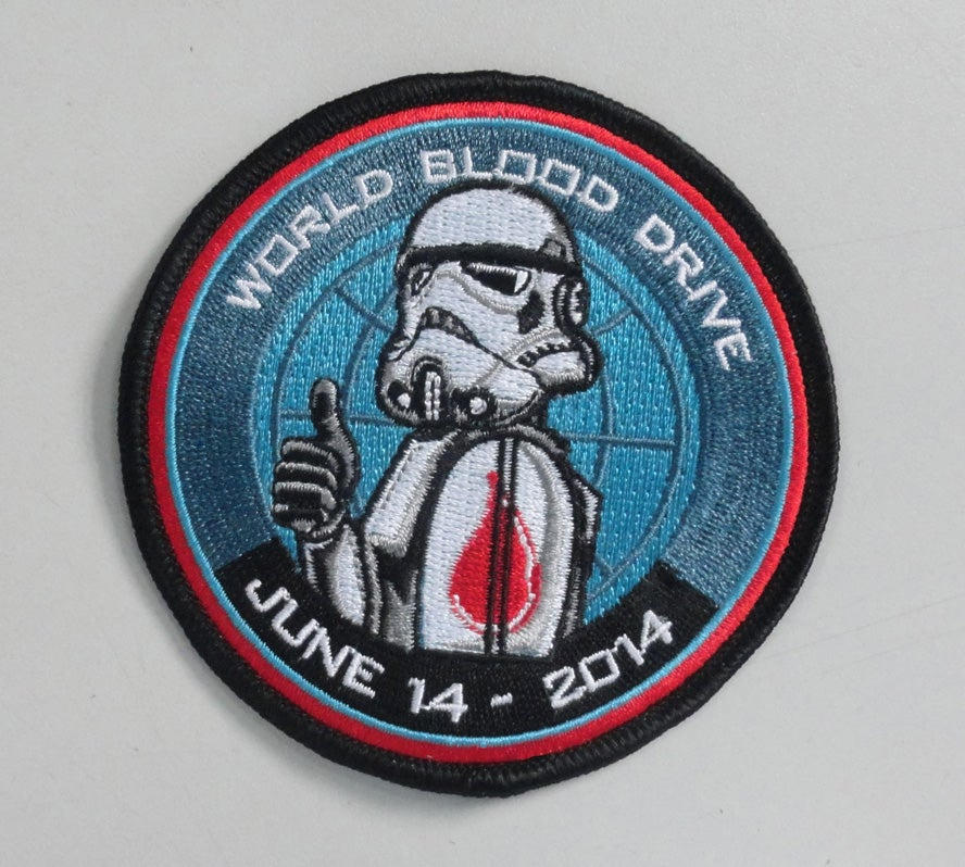 Image of 2014 World Blood Drive Patch 3.5""