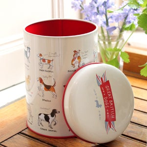 Alice Tait 'Great British Dogs' Tin - Alice Tait Shop