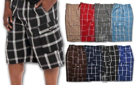 Image of Shaka Plaid Shorts