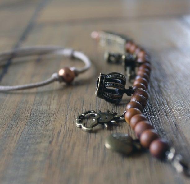 Image of The Lyric Charm Bracelet